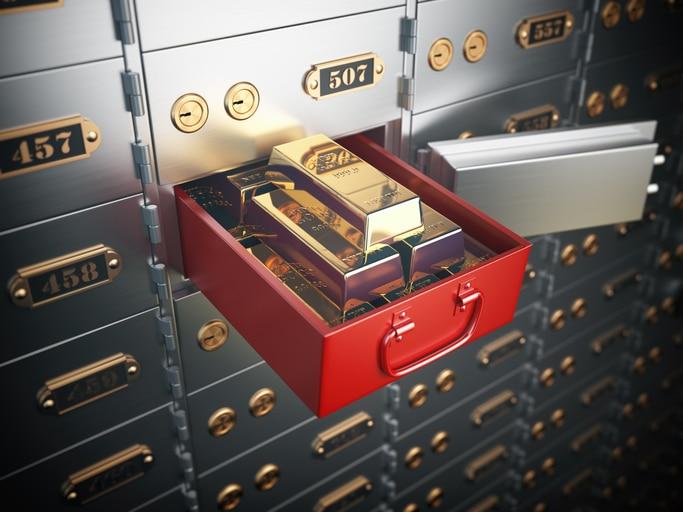 gold storage options