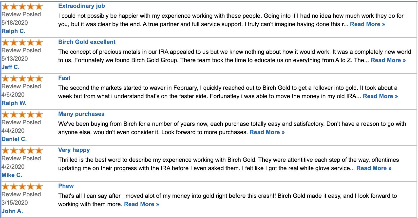 Verified reviews